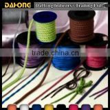 4mm colorful braided non-elastic cord for bracelet and necklace                                                                         Quality Choice