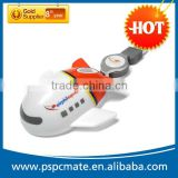 mini plane usb optical 3D mouse with recharge-cable and supports logo or picture printing