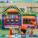 customized indoor inflatable playground equipment for children
