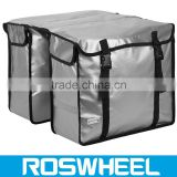 2015 New Bicycle Double Rear Pannier Bag 14032-4 travel bike bag