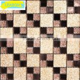Price for roman types glass mosaic gold mosaic tile for wall decoration