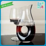crystal designed classical glass decanter hand made single clear fancy crystal glass red wine decanter