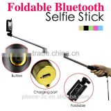 2015 tools Bluetooth mobile phone Selfie Stick, Extendable Handheld stable Monopod Selfie- Stick,wireless camera sticks