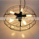 Tiffany Ceiling fan lamp