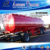 42cbm stainless steel fuel tanker trailer for sale, carbon steel oil tank semi trailer, aluminium alloy fuel tank trailer