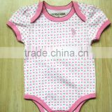 Baby Toddler Clothing wholesale baby short sleeve clothing cute baby romper