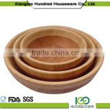 Thick baby bowl bamboo, lovely bamboo kids bowl, color matching salad bowl                                                                         Quality Choice