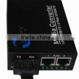 100MB electric double mouth single-mode fiber optic transceivers;Optical transceiver;transceiver;Single-mode transceiver