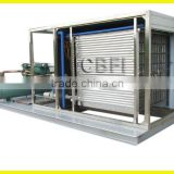large production plate ice making machine with dry and irregular shape