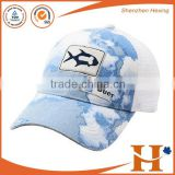 hot sale custom embroidery trucker hat cotton