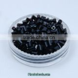 Wholesale 2mm Rainbow Black Tube Czech Glass Beads For DIY Making Jewelry GSB-2RB07