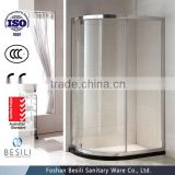 simple tempered glass shower enclosure profile in foshan C15