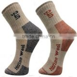 Custom Logo Mountain Hiking Thick & Heavy Socks Merino Wool Socks for Men & Women