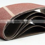 hand grinding machine fabric sheets sanding belts for polishing metal