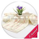 China supplier wholesale jacquard customized bamboo fiber face towel