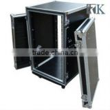 Heavy Duty Road Case for 18U Power Amplifier with Caster Board