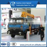 Dongfeng 5T/6.3T small electric hoist winch truck crane