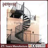 outdoor prefabricated metal stairs