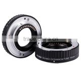 Viltrox Macro Automatic Extension Tube Set DG-M43 for M4/3 mount Olympus and Panasonic Lens Changeable Camera AF Auto Focus