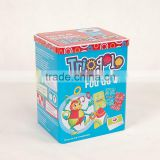 Food Grade Rectangular Airtight Tea Tin Candy Tea Canisters Tin Large Rectangular Comestics Tin Box for Food Storage