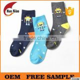 teen boys tube cartoon socks cute patterns childrens sock                                                                                                         Supplier's Choice