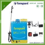 16L electric sprayer plastic blue sprayer agriculture tool hot sale PP classical power sprayer battery sprayer