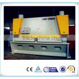 CNC Hydraulic metal plate guillotine cutting machine, aluminium sheet guillotine shearing machine