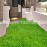 Popular 3D effect lawn wallpaper wall murals for floor and decor new designs