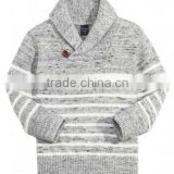 boy's cotton knitted stripe sweater