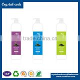 Light family and personal care products label cosmetic label