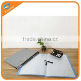 Office stationery recycled pp plastic display book, clear book display folder for office
