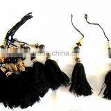 Latest collection New designs Indian Banjara boho beads Key Chain/bag/curtain/dress tassel fringe