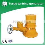 Micro hydro turbine generator for high water head turbine /micro hydro turbine generator
