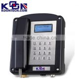 Koontech Anti-explosion telephone with IEC approved KNEX-1 explosion proof telephone for mining use/wall mount landline phone