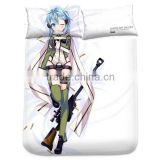 New Sinon Asada Shino - Sword Art Online 2 Japanese Anime Bed Sheet with Pillow Covers Blanket 14