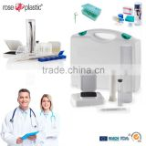 Plastic medical packaging tubes boxes for dental orthodontic instruments