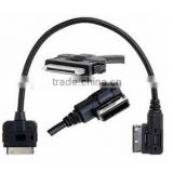2013 Brand New Audi AMI/MMI Cable for Ipod Iphone