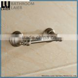 12233c china goods wholesale nickel brushed bathroom fittings wall mount toilet paper holder