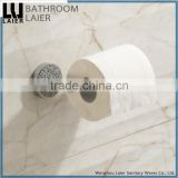 60933d hot sale zinc tube chrome plated hotel equipment modern design bathroom fittings names toilet paper holder