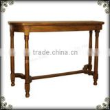 Shabby Chic bronze luxury console table