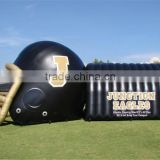 School sports Inflatable Tunnel custom-made 0.4mm PVC inflatable sport tunnel tents China made