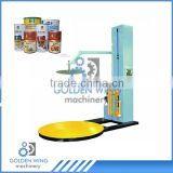 High-capacity Atomatic Stretch Wrapping Machine/pallet stretch wrapping machine For Round Food Tin Can Production Line