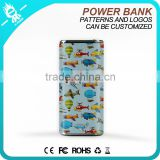 Portable mobile power supply/ wholesale cylinder power bank 4000mAh/Mini rechargeable battery charger