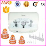 Au-6802 2016 beauty salon vacuum butt lifting breast vibrating suction cup beast machine