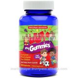 Made in USA PRESERVATIVE FREE Kids Multivitamin Gummy Vitamins