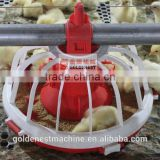 Poultry equipment pan feeder plastic automatic feeder for chicken birds feeding system JCJ01-OP02