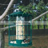PK 2 Squirrel Proof Metal Caged Bird Feeder,Peanut/Sunflower Seed Bird Feeder