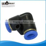 Inquiry about Plastic Elbow Quick Connectors Flexible PBT Pipe Fittings