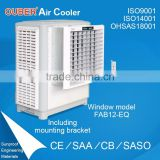 evaporative air cooler with chilled water/warehouse ventilation cooling system packing by carton box