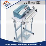 aluminum body foot pedal plastic bag sealing machine for plastic bag